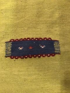 Atlas Showroom Moroccan Rug Berber Tribal Handwoven Wool with Organic Dye - 1145155