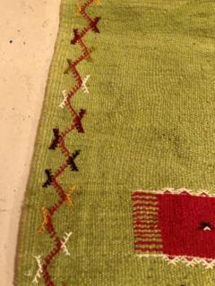 Atlas Showroom Moroccan Rug Berber Tribal Handwoven Wool with Organic Dye - 1145157