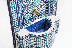 Atlas Showroom Mosaic Mediterranean Water Fountain - 1030419