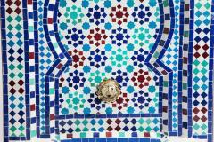 Atlas Showroom Mosaic Mediterranean Water Fountain - 1030420