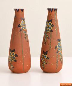 Auguste Heiligeinsten Pair of Large Auguste Heiligeinsten for Leune Vases - 457747