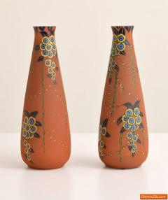 Auguste Heiligeinsten Pair of Large Auguste Heiligeinsten for Leune Vases - 457748