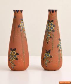 Auguste Heiligeinsten Pair of Large Auguste Heiligeinsten for Leune Vases - 457750