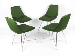 Augusto Bozzi 4 Aster chairs by for Saporiti 1954 - 887364