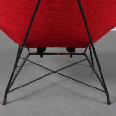 Augusto Bozzi Kosmos Chair by Augusto Bozzi for Saporiti Italy 1954 - 1140059