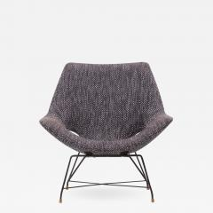 Augusto Bozzi Lounge Chair by Augusto Bozzi for Saporiti Italy 1950s - 1545441