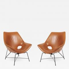 Augusto Bozzi Pair of Kosmos armchairs - 1152783