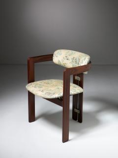 Augusto Savini Pair of Pamplona Chairs by Augusto Savini for Pozzi - 1161776