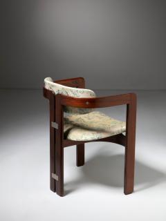 Augusto Savini Pair of Pamplona Chairs by Augusto Savini for Pozzi - 1161777
