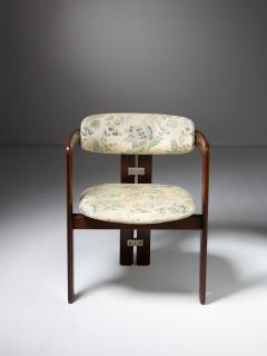 Augusto Savini Pair of Pamplona Chairs by Augusto Savini for Pozzi - 1161778