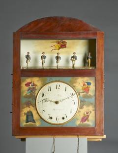 Augustus P Pfaff Philadelphia Automaton Organ Clock - 332506