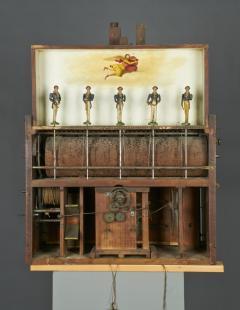 Augustus P Pfaff Philadelphia Automaton Organ Clock - 332507
