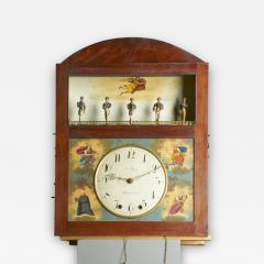 Augustus P Pfaff Philadelphia Automaton Organ Clock - 332757