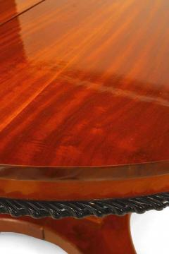 Austiran Biedermeier Mahogany Round Dining Table - 1429810