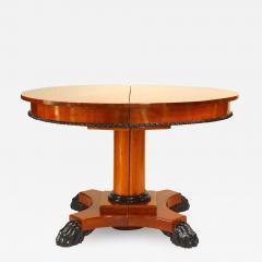 Austiran Biedermeier Mahogany Round Dining Table - 1431673