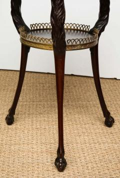 Austrian Neoclassical Gueridon with Micro Mosaic and Specimen Marble Top - 1948108