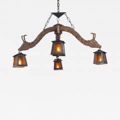 Austro american inspired adirondack chandelier austro american inspired adirondack chandelier 445665 mozeypictures Images