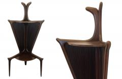 Authentic Italian Mid Century Rosewood Corner Tables from the 1950s - 940431