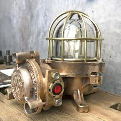 Authentic industrial Flameproof Bronze Table Lamp - 1020430