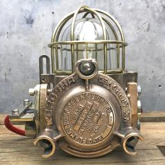 Authentic industrial Flameproof Bronze Table Lamp - 1020439