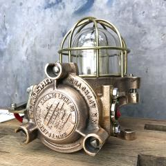 Authentic industrial Flameproof Bronze Table Lamp - 1020440