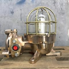 Authentic industrial Flameproof Bronze Table Lamp - 1020446