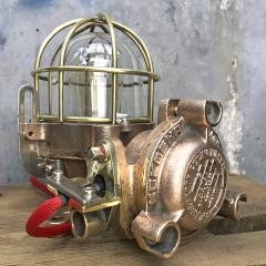 Authentic industrial Flameproof Bronze Table Lamp - 1020447