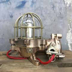 Authentic industrial Flameproof Bronze Table Lamp - 1020449
