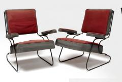 Awesome fifties set of 4 arm chairs in genuine vintage condition - 1706411