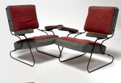 Awesome fifties set of 4 arm chairs in genuine vintage condition - 1706413