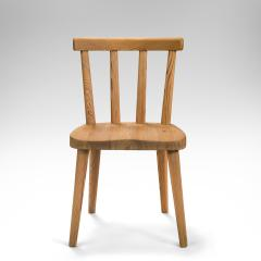 Axel Einar Hjorth Axel Einar Hjorth for Nordiska Kompaniet Pair of Swedish Solid Pine Ut Chairs - 1039454