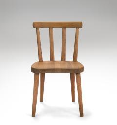 Axel Einar Hjorth Axel Einar Hjorth for Nordiska Kompaniet Pair of Swedish Solid Pine Ut Chairs - 1039455