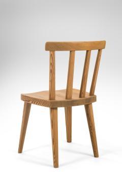 Axel Einar Hjorth Axel Einar Hjorth for Nordiska Kompaniet Pair of Swedish Solid Pine Ut Chairs - 1039456