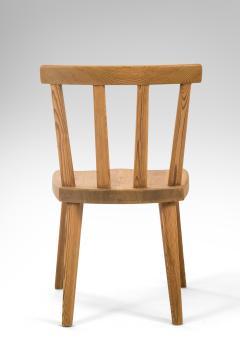 Axel Einar Hjorth Axel Einar Hjorth for Nordiska Kompaniet Pair of Swedish Solid Pine Ut Chairs - 1039457