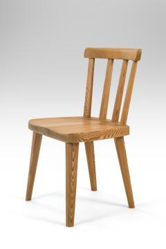 Axel Einar Hjorth Axel Einar Hjorth for Nordiska Kompaniet Pair of Swedish Solid Pine Ut Chairs - 1039461