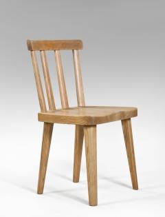 Axel Einar Hjorth Axel Einar Hjorth for Nordiska Kompaniet Pair of Swedish Solid Pine Ut Chairs - 1039463