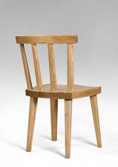 Axel Einar Hjorth Axel Einar Hjorth for Nordiska Kompaniet Pair of Swedish Solid Pine Ut Chairs - 1039464
