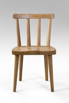 Axel Einar Hjorth Axel Einar Hjorth for Nordiska Kompaniet Pair of Swedish Solid Pine Ut Chairs - 1039466