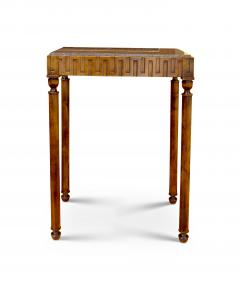 Axel Einar Hjorth Coolidge Side Table in Birch and Marble by A E Hjorth for NK - 524172