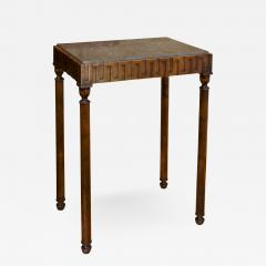 Axel Einar Hjorth Coolidge Side Table in Birch and Marble by A E Hjorth for NK - 524661