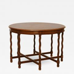 Axel Einar Hjorth Deco Renaissance Style Table in Oak Attributed to A E Hjorth - 650728