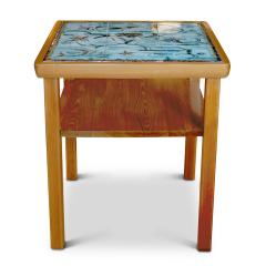 Axel Einar Hjorth W rmd Table in Pine by Axel Einar Hjorth with Tile Top by Anna Lia Thomson - 647896