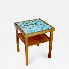 Axel Einar Hjorth W rmd Table in Pine by Axel Einar Hjorth with Tile Top by Anna Lia Thomson - 648962