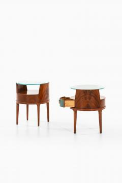 Axel Larsson Bedside Side Tables Produced by Bodafors - 1977664