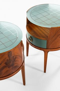Axel Larsson Bedside Side Tables Produced by Bodafors - 1977668
