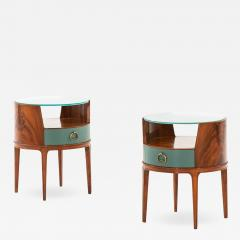 Axel Larsson Bedside Side Tables Produced by Bodafors - 1982381