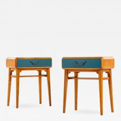 Axel Larsson Bedside Tables Produced by Bodafors - 1975018