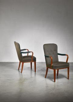 Axel Larsson Pair of Axel Larsson armchairs Sweden 1940s - 923970