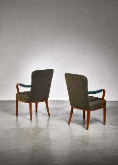 Axel Larsson Pair of Axel Larsson armchairs Sweden 1940s - 923971