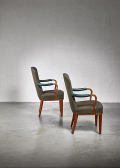 Axel Larsson Pair of Axel Larsson armchairs Sweden 1940s - 923972
